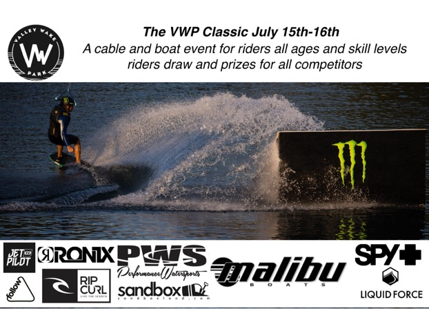 The VWP Classic and BC Wakeboard Straightline Provincials