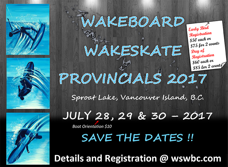 BC Wakeboard Boat Provincials
